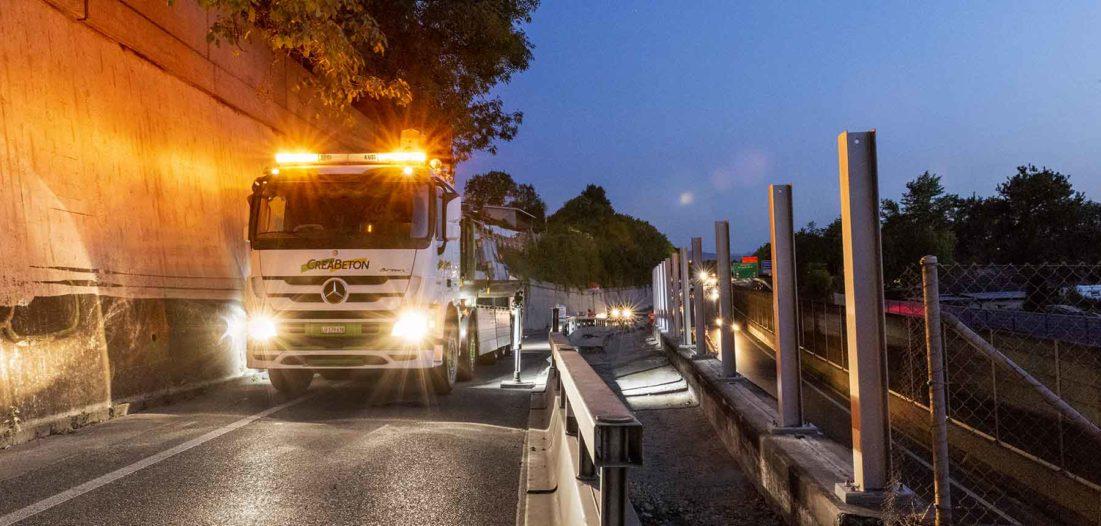 LKW-Transporte effizient und nachhaltig