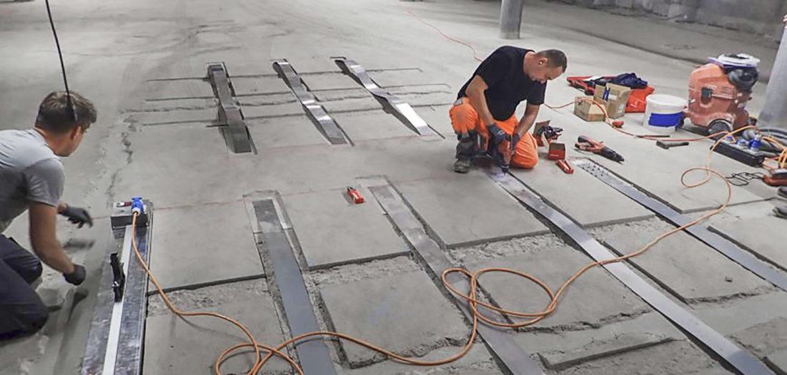 Memory-Steel stärkt alte Betonbauten
