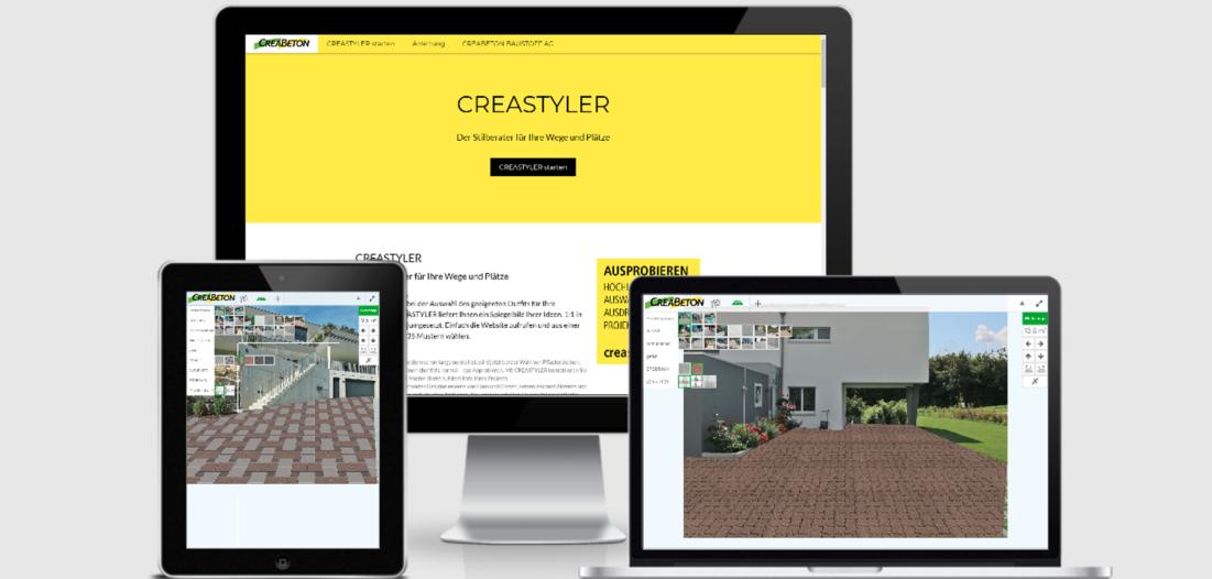 CREASTYLER – Stilberater für Wege und Plätze