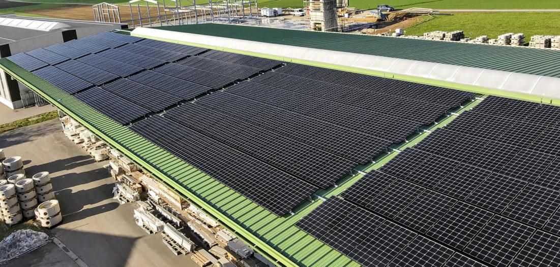 Neue Photovoltaikanlage